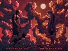 Boris Pelcer The Dark Knight  2 POSTER SET Print Mondo Artist Batman Joker