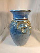 Lee Segal Pottery Vase. Sea Shells 1999