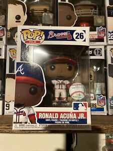 Funko Pop MLB Ronald Acuna, Jr. # 26 Atlanta Braves In Hand