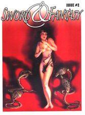 SWORD & FANTASY #2 - Robert E. Howard pulp fanzine Margaret Brundage Weird Tales