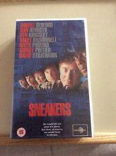VHS VIDEO SNEAKERS STARRING ROBERT REDFORD, DAN AYKROYD