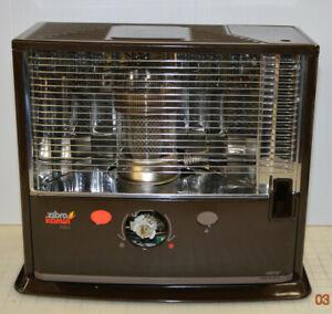ZIBRO-KAMIN Control R22C Portable Kerosene Heater - Rare Japan - Missing knob