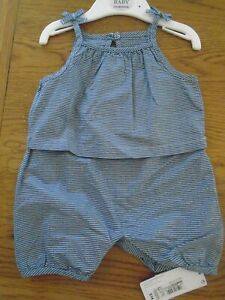 BNWT baby girl M&S sunsuit. 3-6months. RRP £14   1/7