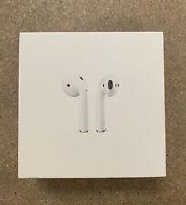 Apple Airpods 2nd Gen Wireless Bluetooth In-Ear Headphones-White-Open Box