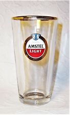 Amstel® Light imported lager pint glass Holland Brouwerij B.V. Amsterdam vguc