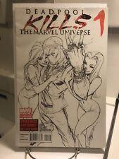 Deadpool kills Marvel Universe #1 2nd Printing J Scott Campbell Variant