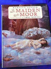 1995 Maiden on the Moor Sheep herders Collie dog Sheepdog Hardback book Singer