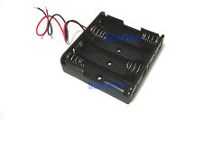 4*AA Battery Box Holder Case with Wire Length: 150mm Electronics Hobby x 1
