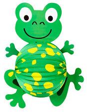 Frosch Lampion 42cm NEU - Partyartikel Dekoration Karneval Fasching