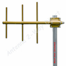 YAGI 3 ELEMENT BASE ANTENNA UHF 450-470 MHz 7.1dBd COMMERCIAL GRADE