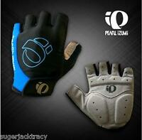 Cycling Mitts Short Finger Cycling Gloves Blue Large