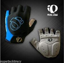 Cycling Mitts Short Finger Cycling Gloves Blue Medium