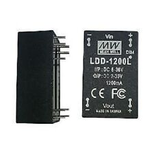 Mean Well LDD-1200L LED Power Supplies 6-36Vin 2-30V 1200mA Pin DC-DC LED Driver