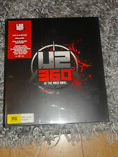 U2 - 360° at the Rose Bowl Live NEW SEALED* Super Deluxe Boxset DVD Blu Ray Book