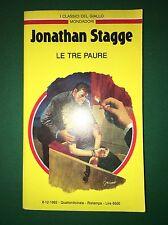 LE TRE PAURE -Jonathan Stagge - Giallo Mondadori