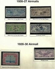 CHOICE! U.S. 1926-30 Airmail Stamps #C7-C12 WYSIWYG Lot SEE SCAN!