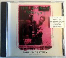 Paul McCartney - The World Tonight - Promo Picture CD Single - New - Last Copy!