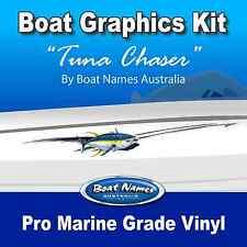 Boat Graphics Kit - Tuna Chaser