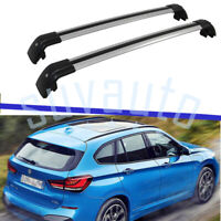 US Stock Cross Bar Fit for BMW X1 F48 2016-2021 Roof  Rack Rail Luggage Aluminum
