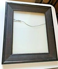 Antique 1800s Wood Picture Frame w/Glass: 26 x 22, 3.5 Thick, Holds 19 x 15