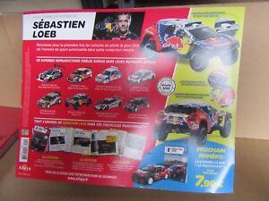 738H Altaya Sebastian Loeb Dakar 2016 Peugeot 2008 Dkr #314 1:43