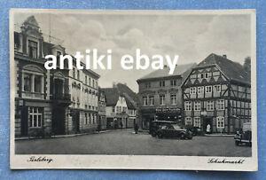 # Feldpost AK 1941 - Schuhmarkt Perleberg