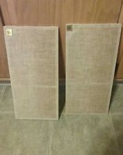 Pair Acoustic Research  AR-4X Speakers Vintage Covers Grills PARTS