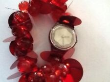 """SWATCH WATCH """"HIPPY LOVE RED"""" RARE NEW COLLECTABLE MINT LR118UGREAT GIFT NIB"""