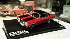 Opel Commodore A Coupe GS/E 1970-1971, rot,  -1/43- Modellauto -Opel Collection-