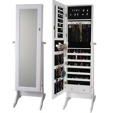 1.5 Metre Tall Jewelry Cabinet Cupboard Storage Box Organiser with Mirror