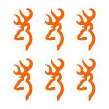 Browning Buck Deer Hunting Logo Vinyl Decals 6 Small Phone Laptop Stickers