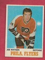 1970-71 OPC  # 79 PHILADELPHIA FLYERS JOE WATSON  CARD