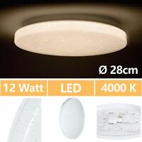 Lámpara LED De Techo Salón Dormitorio Cielo Estrellado 12 Vatios 230V