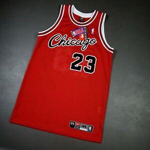 100% Authentic Michael Jordan Vintage Nike 84 85 Bulls Rookie Jersey Size 44 L