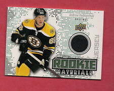 2010-11 UPD # RM-AB BRUINS ANDREW BODNARCHUK ROOKIE MATERIALS JERSEY CARD