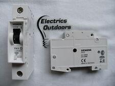 SIEMENS 0,3 AMP tipo C 6 KA MCB INTERRUTTORE AUTOMATICO 230 / 400 5sx21 5sx2 BS EN 60898