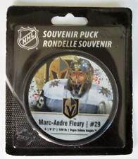 Marc Andre Fleury NHL Photo Vegas Golden Knights Hockey Puck #29