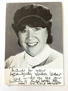 Nerys Hughes - The District Nurse - Doctor Who - Original Hand Signed Autograph