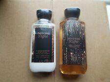 Bath & Body Works Into The Night Shower Gel & Shea & Vit E Body Lotion