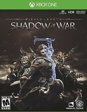 NEW Middle-earth: Shadow of War (Microsoft Xbox One, 2017)