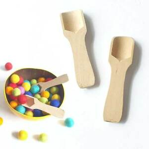 Scoop Toy. Montessori Sensory Play Wooden Tools. Fine Motor Educational Gift Set