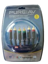 Pure AV Component Video Cable Kit by Belkin Brand New 12ft DVD VCR Satellite- TV