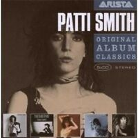 "PATTIS SMITH ""ORIGINAL ALBUM CLASSICS"" 5 CD BOX NEU"