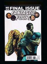 Fantastic Four #588B,Variant, Final Issue -  Marvel Comics 2011 ~ NM (HX574)