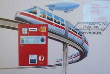 1987 Australia Frama Echidna 37 cents, Sydney Monorail
