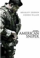 AMERICAN SNIPER 2014 action dvd NAVY SEAL CHRIS KYLE Bradely Cooper (1 disc)