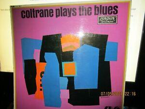 JOHN COLTRANE PLAYS THE BLUES CLEAN LONDON LP