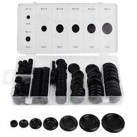 170Pcs Rubber Grommet Firewall Hole Plug Set Electrical Wire Gasket Kit for Car