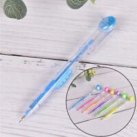 2X Cute Kawaii 0.7/0.5mm Mechanical Pencil With Eraser Gift Kids Teacher`StuIJUS