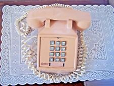 VINTAGE BELL SOUTH BEIGE DESK  PHONE MODEL 2500 TOUCH TONE